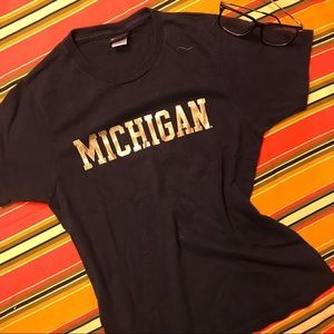 ++ [vintage] • ladies champion michigan top ++